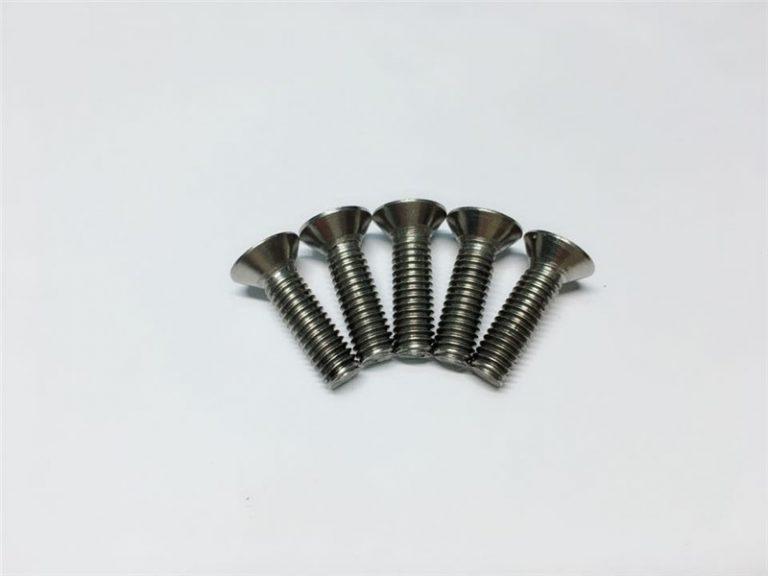 М3, титанові гвинтові гвинти з титановим гвинтом M3, титанові фланцеві гвинти для хірургічної операції на хребті