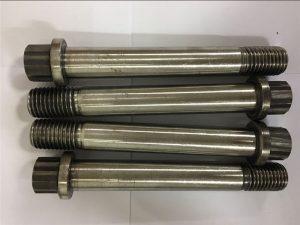 Нікелевий сплав Inconel 718-uns n07718-EN2.4668 Гвинтове кріплення фланцевого болта