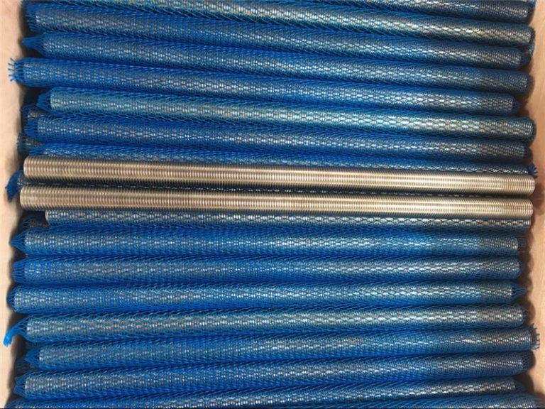 нікелевий сплав inconel601 / 2.4851 трапецієподібний різьбовий стрижень новий товар