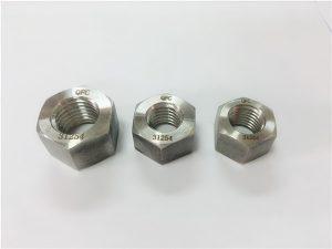 №109-S31254 A193 B8MLCuN важкі шестигранні гайки