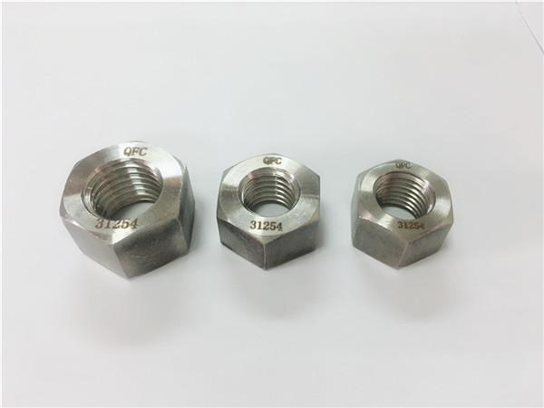 дуплексна нержавіюча сталь 2205 / s32205 шестигранна гайка