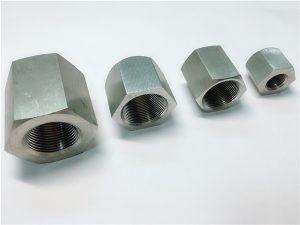 No.31-Міцна у використанні на замовлення внутрішня гайка з шестигранною гайкою з нержавіючої сталі
