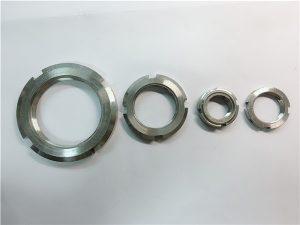 №3-Китай постачальник на замовлення зробив круглу гайку з нержавіючої сталі