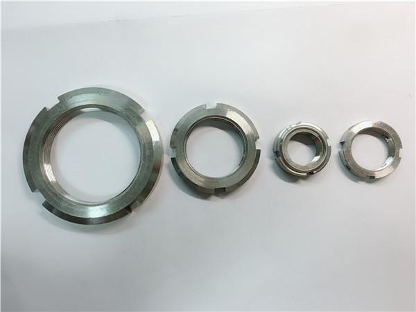 Китай постачальник на замовлення з круглої гайки з нержавіючої сталі