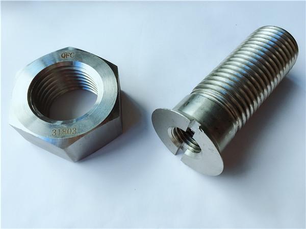 нестандартний болт та гайка металевої металевої вуглецевої сталі