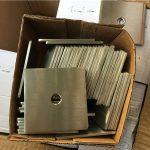 спеціальна шайба / кріплення для пластин з нержавіючої сталі супер дуплекс s32205 (f60) з нержавіючої сталі