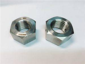 No.76 Duplex 2205 F53 1.4410 S32750 кріплення з нержавіючої сталі важкі шестигранні гайки