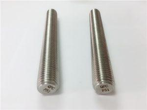 No.77 Кріплення з нержавіючої сталі Duplex 2205 S32205 DIN975 DIN976 резьбові стрижні F51