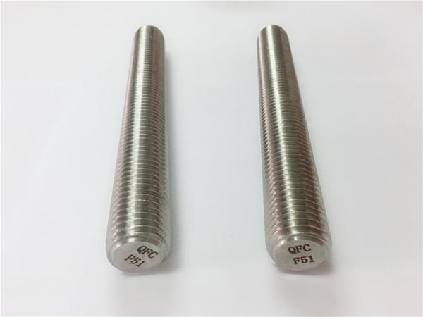 duplex2205 / s32205 кріплення з нержавіючої сталі din975 / din976 різьбові стрижні f51