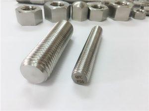 No.81-F55 Кріплення Zeron100 з нержавіючої сталі повний різьбовий стрижень S32760