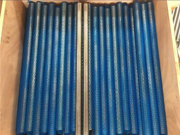 застібка з нержавіючої сталі s32760 (zeron100, en1.4501) повністю різьбовий стрижень