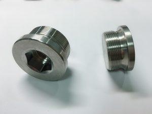 Кільцевий болт з нержавіючої сталі на замовлення з ключем ss