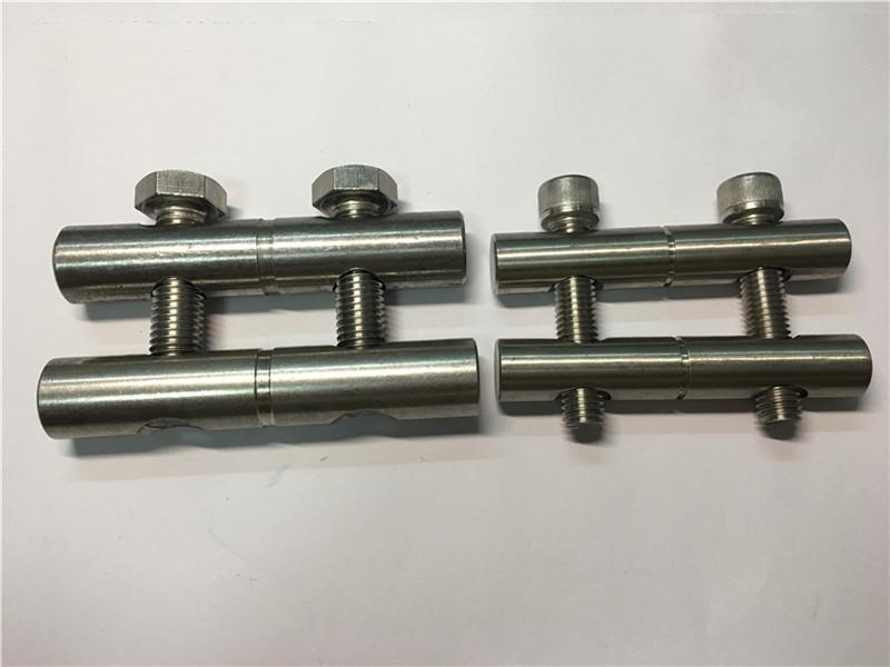 меблеве обладнання, індивідуальні точні кріплення з нержавіючої сталі