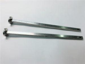 постачальник застібки 316 з нержавіючої сталі плоскою головою квадратної горловини din603 m4 болт каретки