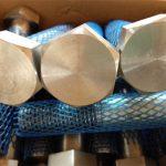 великі запаси механічних кріплень високої стійкості важкого шестигранного болта та гайки