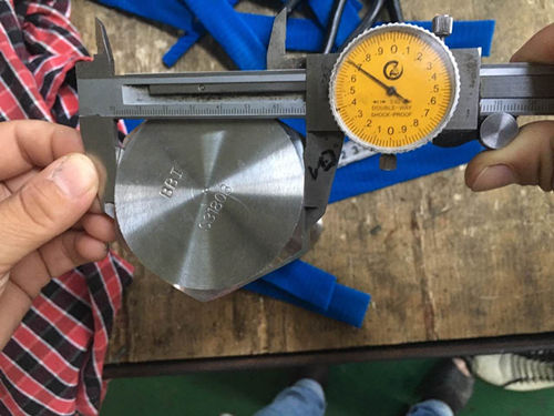 S31803 Шестигранна перевірка розміру гвинта