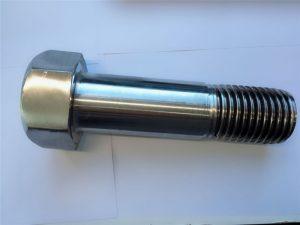 супер дуплекс з нержавіючої сталі din931 напіврізний шестигранний болт